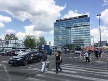 Warszawa Zachodnia Bus Terminal. Is a mjor bus terminal in Warsaw Stock Photography