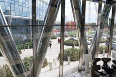 Warszawska iglica zbudować nowoczesnego urzędu Obraz Stock