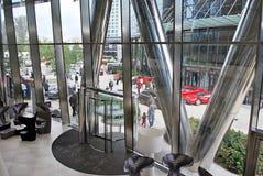 Warszawska iglica zbudować nowoczesnego urzędu Obrazy Royalty Free