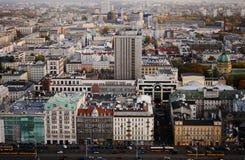 Warszawska panorama zdjęcia royalty free