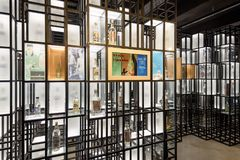 Warszawski ajerówki muzeum obrazy royalty free