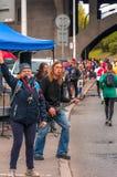 Warszawski maraton 2016 Zdjęcie Royalty Free