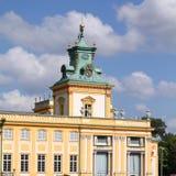 Warszawski pałac Obrazy Royalty Free