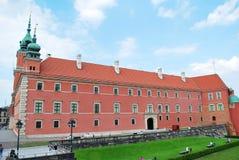 Warszawski Polska, 22 2016 Maj zamek królewski Warsaw Zdjęcie Royalty Free