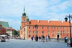 Warszawski Polska, 22 2016 Maj zamek królewski Warsaw Fotografia Stock
