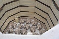 Warsztat artystyczny ceramics zdjęcia stock