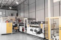 Warsztat dla produkci polypropylene i polietylen Zdjęcia Royalty Free