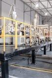 Warsztat dla produkci polypropylene i polietylen Obrazy Royalty Free