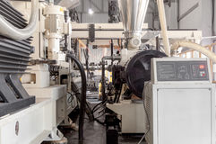 Warsztat dla produkci polypropylene i polietylen Fotografia Royalty Free