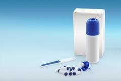 Wart healing kit with nitrogen Royalty Free Stock Images