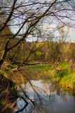 Warta river, Poland Stock Photo