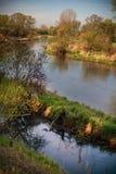 Warta river, Poland Royalty Free Stock Photos