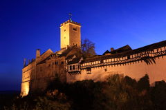 Wartburg城堡德国 免版税库存照片