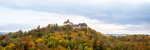 Wartburg castle in Eisenach, Germany Royalty Free Stock Photos