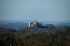 Wartburg Castle in Germany Royalty Free Stock Image