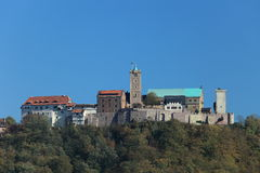 Wartburg Castle in Germany Stock Image