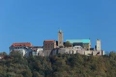 Wartburg Castle in Germany Stock Image