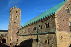 The Wartburg Castle Royalty Free Stock Image