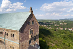 Wartburg Castle in Germany Royalty Free Stock Photography