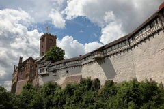 The Wartburg Castle in Germany Stock Photo