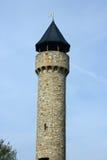 Wartburg Castle tower. The Wartburg Castle tower in Freimersheim, Germany Stock Image
