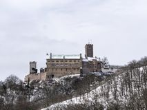 Wartburg-kasteel, Duitsland stock afbeeldingen