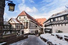 Wartburg-Schloss Stockbild