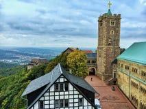 Wartburg slott Royaltyfria Bilder