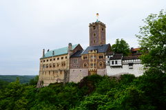 Wartburg slott Royaltyfri Bild