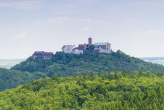 Wartburg View. In the Thuringian Forest Royalty Free Stock Photos
