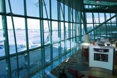 Warteaufenthaltsraum von Flughafen Singapurs Changi Stockfoto