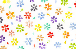 Wartercolor-Blumen vektor abbildung