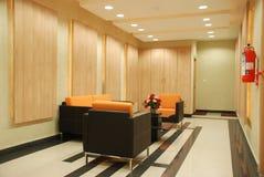 Wartevorhalle Stockbild