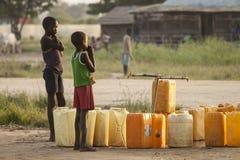 Wartewasser Lizenzfreie Stockfotos
