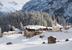 Warth, Austria Royalty Free Stock Photos