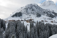Warth, Austria Stock Photos