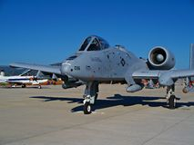 Warthog A-10 photographie stock