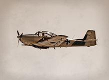 Wartime aircraft Royalty Free Stock Image