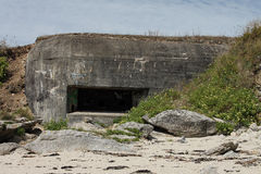 Wartime German Bunker Royalty Free Stock Photo