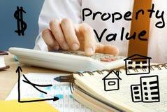 Wartość nieruchomości Nieruchomości inwestycja Zdjęcie Royalty Free