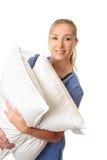 wartość opieki zdrowotnej pracowników pacjentów na poduszki obrazy royalty free