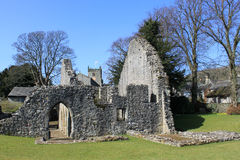 Warton Old Rectory, 14th century stone house Royalty Free Stock Image