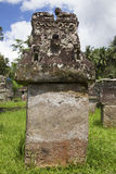 Waruga ou sarcófago de pedra Imagens de Stock