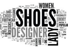 Warum Wort-Wolke Damen-Designer Shoes Are Special vektor abbildung