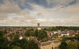 Warwick, Великобритания - 19-ое сентября 2016 Стоковое Фото