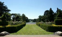 warwick павлина сада замока Стоковые Фото