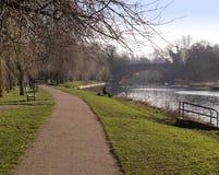 Warwick avon реки Стоковое Изображение