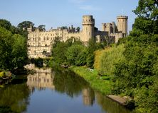 Warwick Castle royalty free stock photography