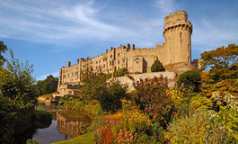 Warwick Castle Stockfoto