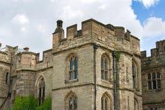 Warwick Castle fotografering för bildbyråer
